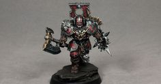 Opponent-theory's painting tutorial for Khorne blood warrior Age of Sigmar