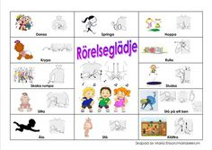Learn Swedish, Swedish Language, Kids Corner, Sign Language, Kindergarten, Preschool, Teaching, Education, Communication