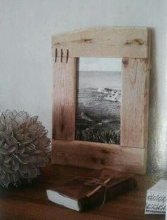 precioso marco de madera