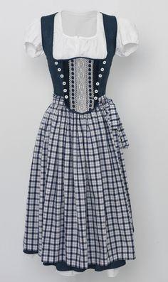 Dirndl Kornblumenblau - Kleider von HeimatPunk - Dirndl & Trachtenkleider - Kleider - DaWanda