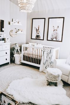 Amazing Nursery Decorating Ideas – Baby Room Design For Chic Parent Renovation – Best Home Ideas and Inspiration - Babyzimmer Ideen Baby Room Design, Nursery Design, Design Bedroom, Baby Nursery Decor, Baby Decor, Project Nursery, Bunny Nursery, Animal Theme Nursery, Nursery Room Ideas