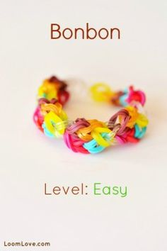 Loom Love - an entire site dedicated to Rainbow Loom tutorials :)
