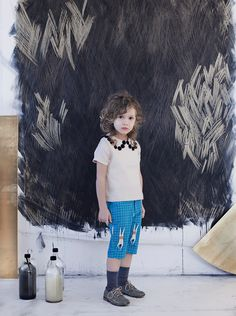 Apnee ☞ Plus de contenu sur www.milkmagazine.fr Photographie : Anna Malmberg Stylisme et coiffure : Clara Dayet