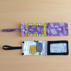 pochette de voyage étiquette de bagage blog coutureGlobe Couture, le blog d'une passionnée de couture et de voyages