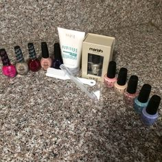 ‼️New OPI Set‼️ New Set of 15 OPI Products. Includes Mariah Carey 18k White Gold & Silver Top Coat, Chamomile Mint Massage, Crystal File, Nail Brush, 10 OPI nail polish (Basking in Gloria) (My jay or the highway) (Someday when I stop loving blue) (Southern Charm) (Spring Break) (You're such a Budapest) (You callin me a lyre?) (Let's do anything we want) (It's a girl) (baby blue). OPI Makeup