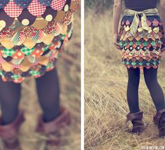 DIY | Tumblr  Patchwork Skirt