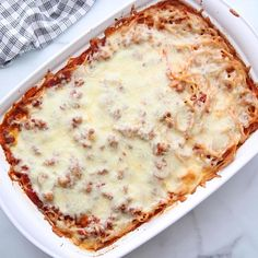 Baked Spaghetti With Ricotta, Easy Baked Spaghetti, Baked Spaghetti Casserole, Baked Spaghetti Recipes, Best Spaghetti Recipe, Ground Italian Sausage Recipes, Best Italian Recipes, Beef Casserole Recipes, Beef Recipes