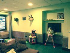 Sala de #juegos para los más #pequeños.