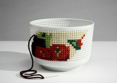 Embroidery x bowl