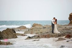 Love is like the ocean, so beautiful and everlasting. Our bride and groom at the beach of Cabo Surf Hotel in Cabo San Lucas, Baja, Mexico. #cabo #wedding #cabosurf #destinationwedding #mexico #mexicowedding