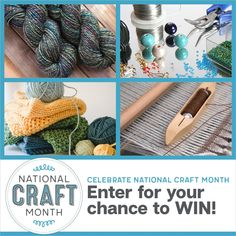 March is National Craft Month and we're celebrating with our biggest giveaway yet! Click to learn more about our sponsors and all 20 fabulous prizes.