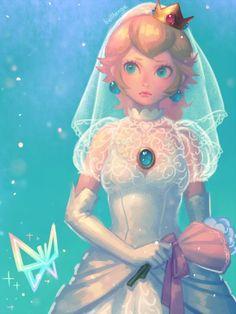 Wedding Peach(2) by bellhenge.deviantart.com on @DeviantArt