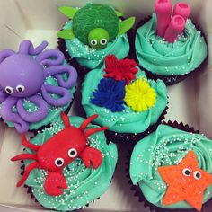 My sea creatures :)