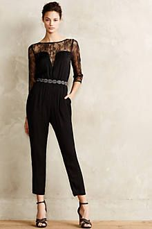 Draped Garnet Jumpsuit - anthropologie.com