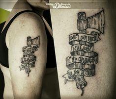 Tattoo Ascia By Saverio Alan Damiani   Saverio  Damiani DS Tattoo