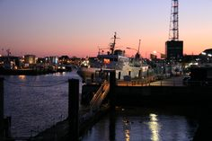 Harbour of Cuxhaven, Germany  Photographed by C M