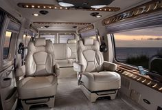 Conversion Van Size A Can Be Full Cargo That Is Sent To Third Party Companies Outfitted With Various Luxuries For Road