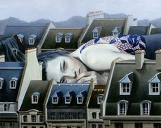 Illustrazione - #Tran #Nguyen. #arte #paint #art #illustration