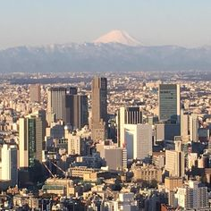 Fuji greets me as I wake up in the beautiful city of Tokyo. I can't wait to release my album in Japan. by nickcarter