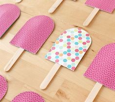 Your kids will love playing this popsicle matching game and helping you make it, too!