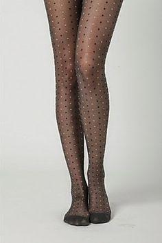 100 packs of tights: Все виды колготок в горох / All kinds of dotty tights
