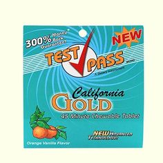 If you are desperately requiring the ability to be able to pass a urine test, Test Pass chewable detox tablets are right for you Detox Pills, Vanilla Flavoring, Close Image