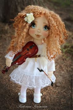 Вера. Коллекционная куколка.. Handmade.