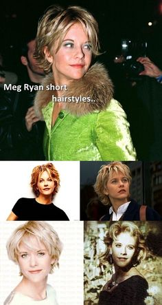 Meg Ryan short hairstyles