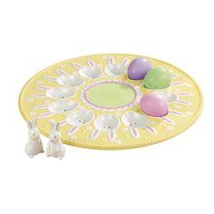 Grasslands Road Easter 11-1/2-Inch Bunny Egg Plate with B... https://www.amazon.com/dp/B004185G1U/ref=cm_sw_r_pi_dp_x_43D0zb9Q6N0T5