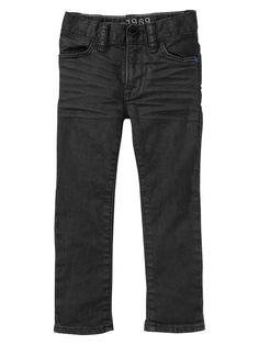 GAP Toddler Boy black skinny jeans (R265)