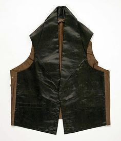 a696f87737 Vest Date  1840s Culture  American or European Romantic Outfit