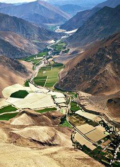 Valle del Elqui , Norte de Chile.Cuna de la poetisa  Gabriela Mistral
