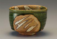 Oribe Tea Bowl, Ken Matsuzaki,Japan. Pucker Gallery