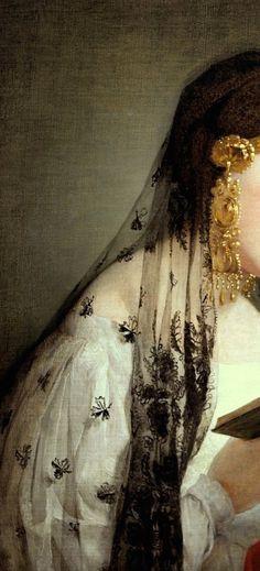 Friedrich von Amerling - Reading Girl #Art #Detail