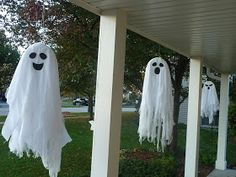 Sometimes Creative: Hanging Ghosts