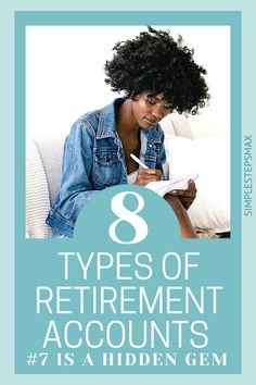 Wondering what the difference is between a 401K and an IRA? Should you have a Roth or traditional account? All these questions are answered in this article. So, go check out the best types of individual retirement accounts available to you. #retirement #investing #financialtips #moneytips Retirement Savings, Retirement Accounts, Saving For Retirement, Early Retirement, Financial Tips, Financial Planning, Individual Retirement Account, Money Tips, Life Goals
