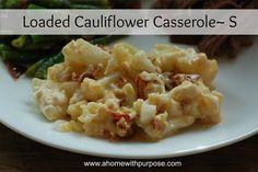 Loaded Cauliflower Casserole (S)