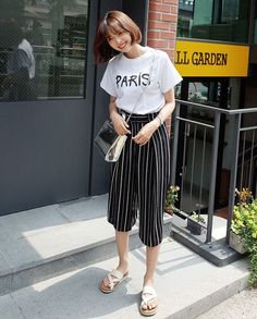 Square Pants Ootd, Square Pants Outfit Casual, Fashion Pants, Fashion Outfits, Fashion 101, Fasion, Daily Fashion, Fashion Women, Squarepants Outfit