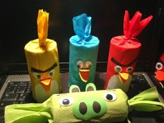 Party Ideen #1 - Angry Birds Party - Schnittchen's Welt