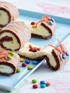 Biskuitschnecken und Apfelmuffins - unsere Kindergeburtstagskuchen bringen kleine Geburtstagskinder zum Strahlen. 10 niedliche Kuchen Rezepte.