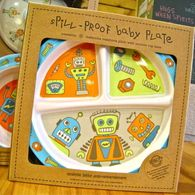 Spill-Proof Baby Plate