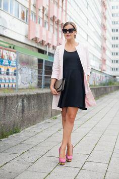 Kleid schwarz Edited