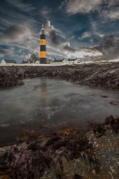 St Johns #Lighthouse - #Ireland - by Peter Johnston http://dennisharper.lnf.com/