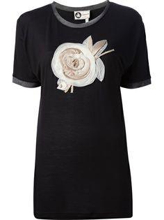 LANVIN Rose Detail T-Shirt http://www.farfetch.com/shopping/women/lanvin-rose-detail-t-shirt-item-10513680.aspx?storeid=9339