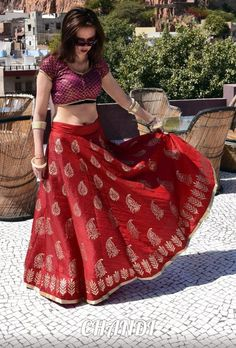 india Skirt boho freepeople style gypsy tribal fusion bellydance banjara brice