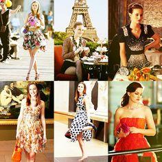 Gossip Girl - Blair Waldorf in Paris Blair Waldorf Outfits, Blair Waldorf Gossip Girl, Blair Waldorf Style, Gossip Girl Blair, Gossip Girls, Gossip Girl Outfits, Gossip Girl Fashion, Carrie Bradshaw, Pretty Little Liars