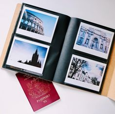 Instax Wide Photo album - perfect for storing all you Instax Wide photos.  - Holds 32 photos.  - Album Size: 20.5 cm x 17 cm (8x7 in) - Picture size: Instax Wide 8.6 cm x 10.8 cm (3.38x4.25 in) - Available in dark brown color.
