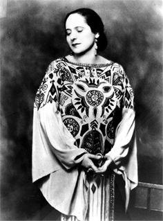 Helena Rubenstein in Poiret, 1926