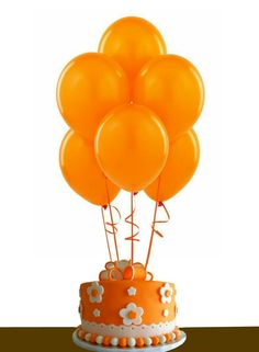 Orange 12 Inch Thickened Latex Balloons, Pack of Premium Helium Quality for Wedding Bridal Baby Shower Birthday Party Decorations Supplies Ballon Baloon Thinken Orange Balloons, Black Balloons, Latex Balloons, Round Balloons, Orange You Glad, Orange Is The New, Xmas Decorations, Birthday Party Decorations, Party Themes