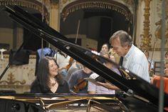 Martha Argerich and Claudio Abbado